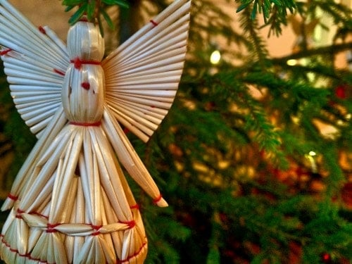 Kuusenkoriste-enkeli