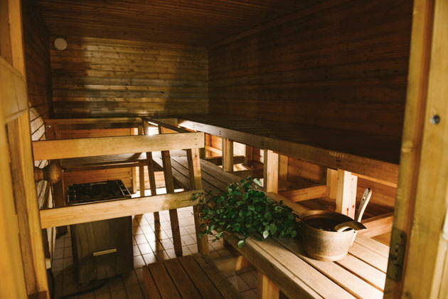 The Riiho Guest House sauna