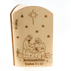 Jouluevankeliumi-etukansi
