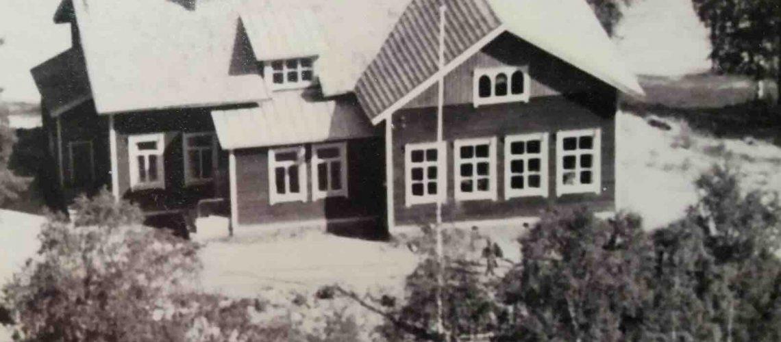 Vanha koulu ulkoa